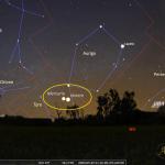 Mercurio, Venere e DUE comete nel cielo del tramonto...