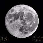 La Superluna in diretta