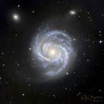 Galassia a spirale M100