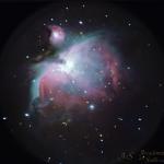 La Nebulosa di Orione... al cellulare!