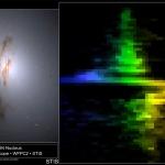 Un vortice dentro una galassia