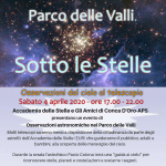 Parco delle Valli sotto le stelle 5