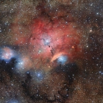 Il VST riprende la nebulosa Sharpless 29