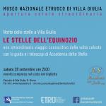 Una notte con i telescopi al Museo Etrusco