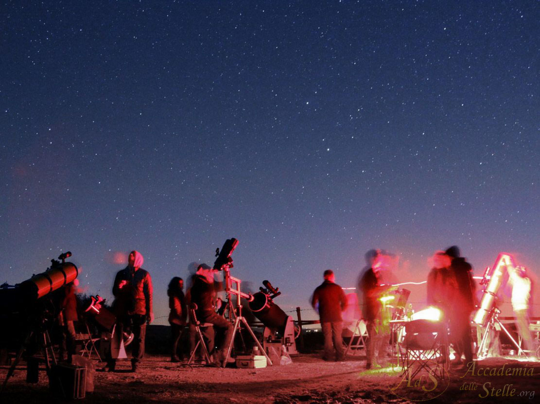 Astrofili al telescopio