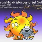 Transito di Mercurio da Roma
