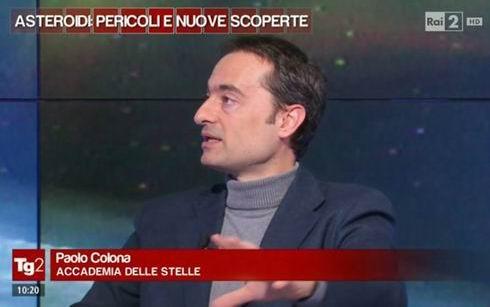 Paolo Colona al TG2