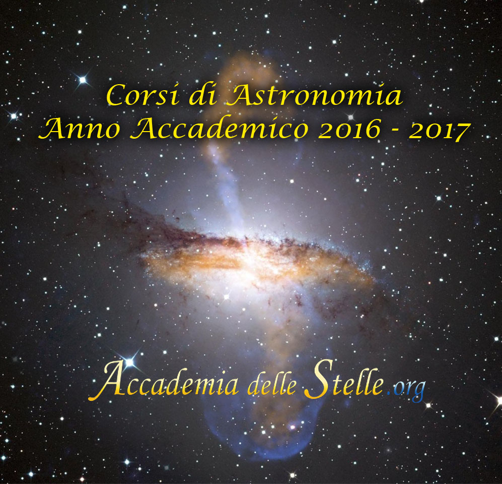 corsi della scuola di astronomia anno accademico 2016-2017