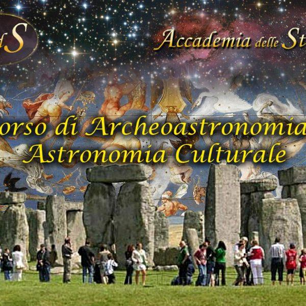 Corso di Archeoastronomia e Astronomia Culturale2