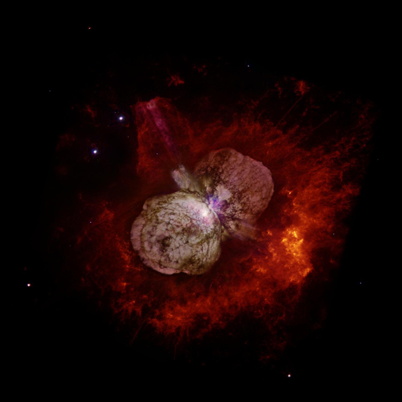 Eta Carinae Homunculus