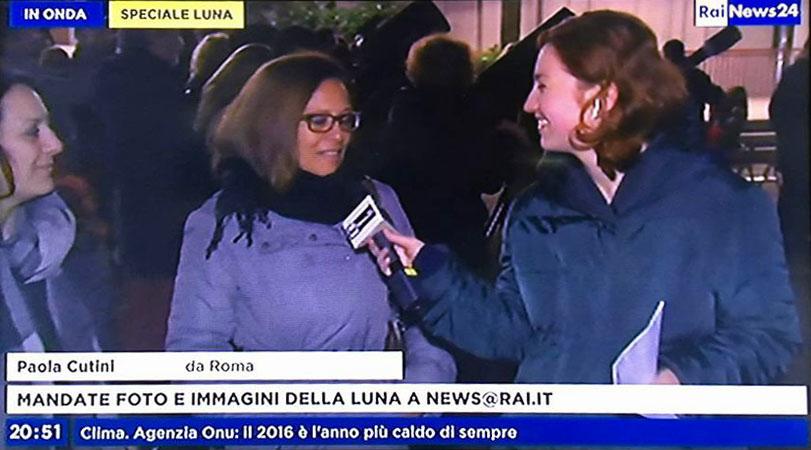 Diverse persone del pubblico sono state intervistate da RaiNews durante la serata. Bellissime le loro testimonianze.