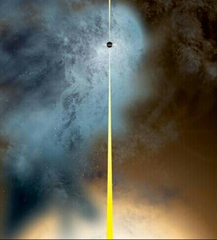 buco nero nudo
