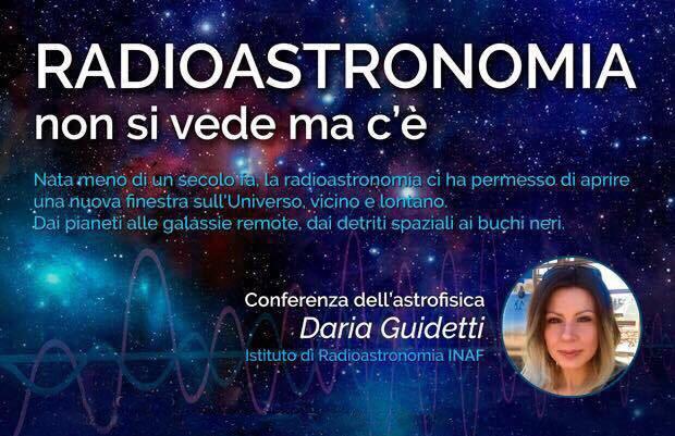 Daria Guidetti - Radioastronomia