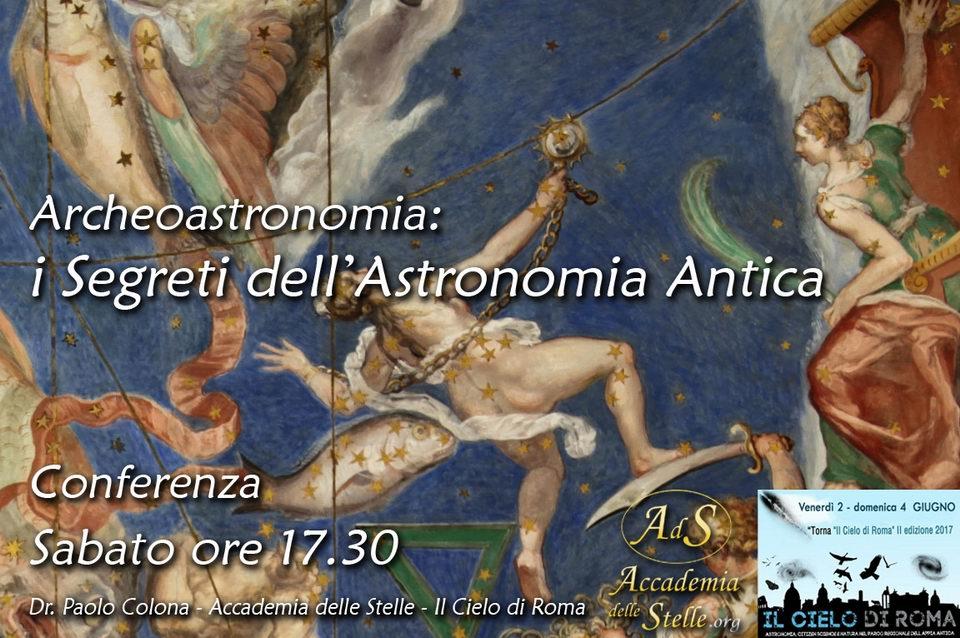 Archeoastronomia - i Segreti dell'Astronomia Antica