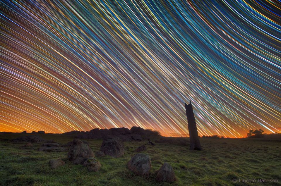 Australian Star Trails - Lincoln Harrison