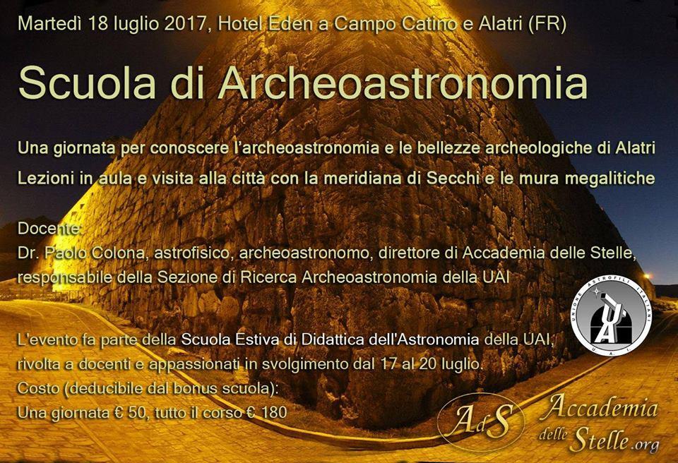 Scuola di Archeoastronomia