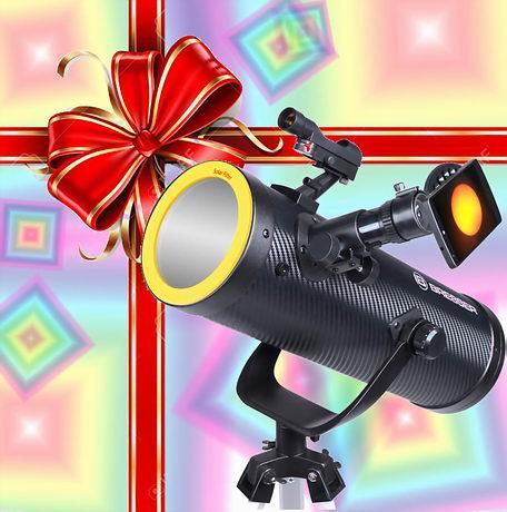 Telescopio in regalo-