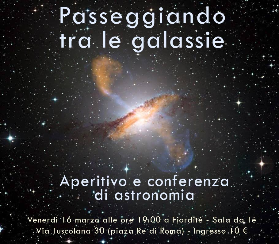 Aperitivo astronomico a Fiorditè