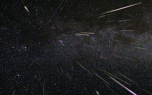 Sciame meteorico - stelle cadenti