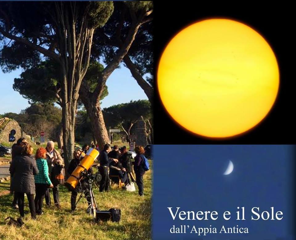Sole e Venere dall'Appia Antica