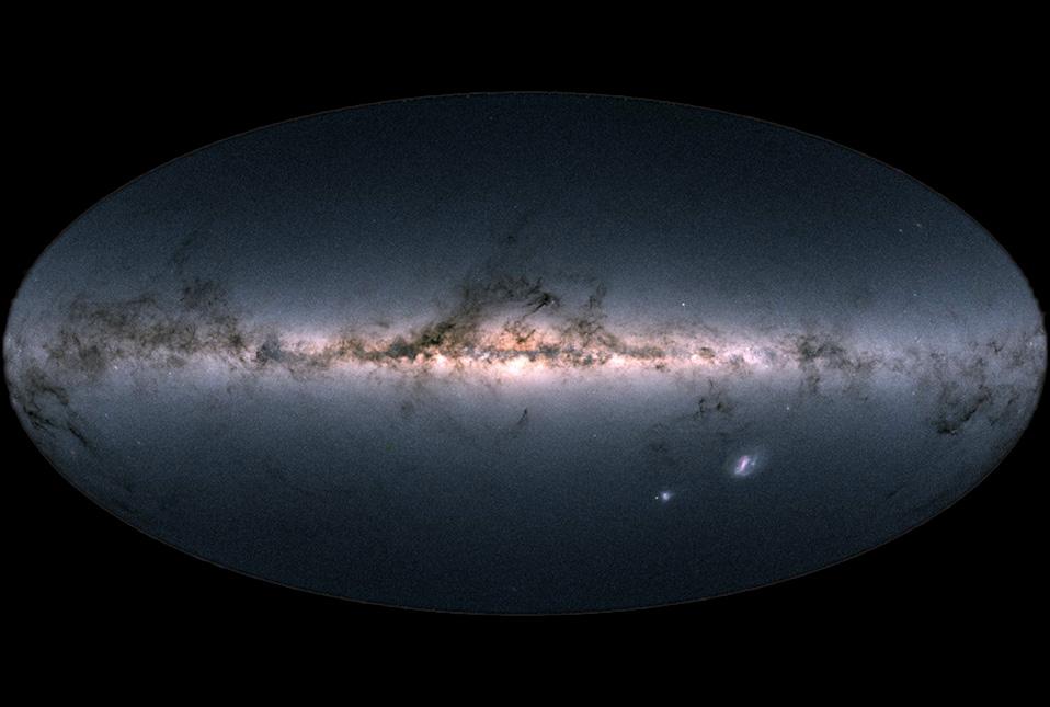 Via Lattea di Gaia