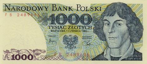 Copernico-banconota