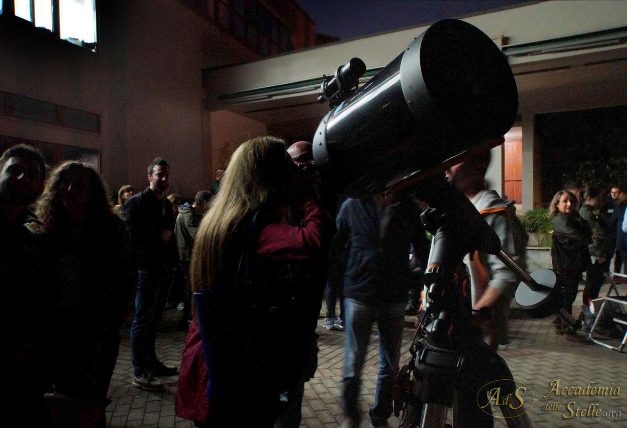 L'emozione di osservare in un grande telescopio...