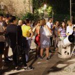 Due telescopi erano stati allestiti anche sulla pista di pattinaggio ad Ostia Antica per mostrare pianeti ed eclissi alle tante persone che hanno partecipato all'evento.