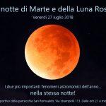 Il prossimo appuntamento con le stelle è da non perdere: venerdì 27 luglio osserveremo l'eclissi totale di Luna e la grande opposizione di Marte!