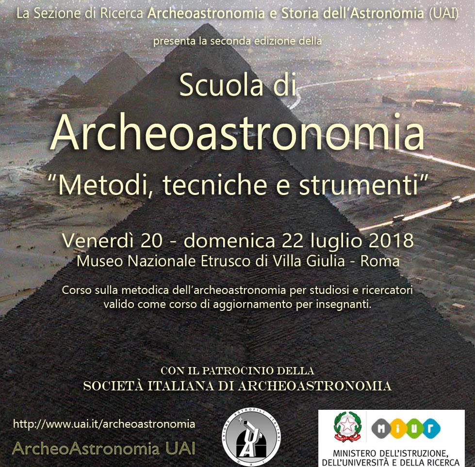 Scuola di Archeoastronomia-Roma-SIA-