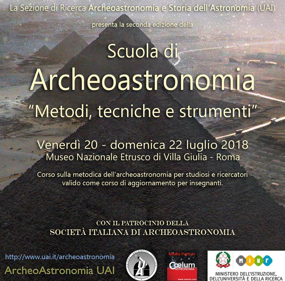 Scuola di Archeoastronomia-Roma-SIA