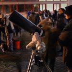Tutti indaffarati ai telescopi! Ben tre strumenti andavano dai 30 cm in su!