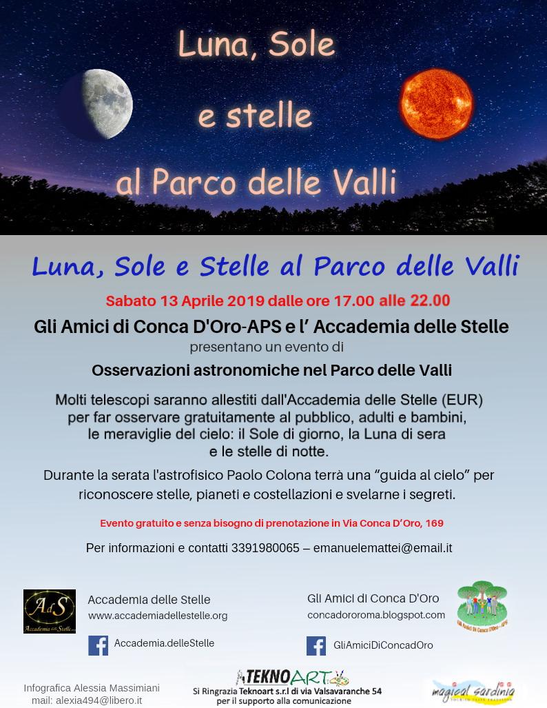 Parco delle Valli-Astronomia