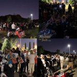 Una folla sconfinata ha invaso pacificamente il grande  parco del Divino Amore per assistere all'eclissi di Luna ed osservare attraverso i telescopi dell'Accademia Delle Stelle - Astronomia. Una grande festa dell'astronomia come quelle che ci piacciono di più!