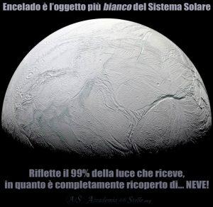 Encelado bianco neve