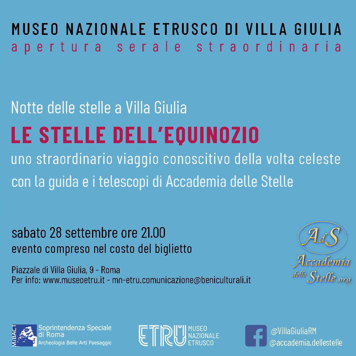 Telescopi al Museo Etrusco-