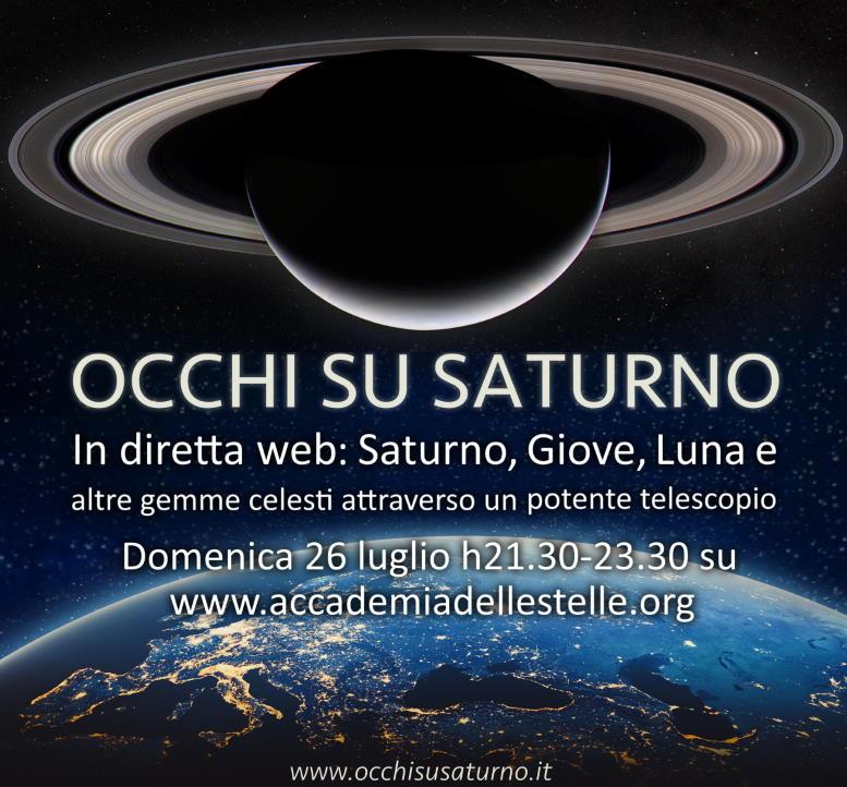 Occhi su Saturno 2020-