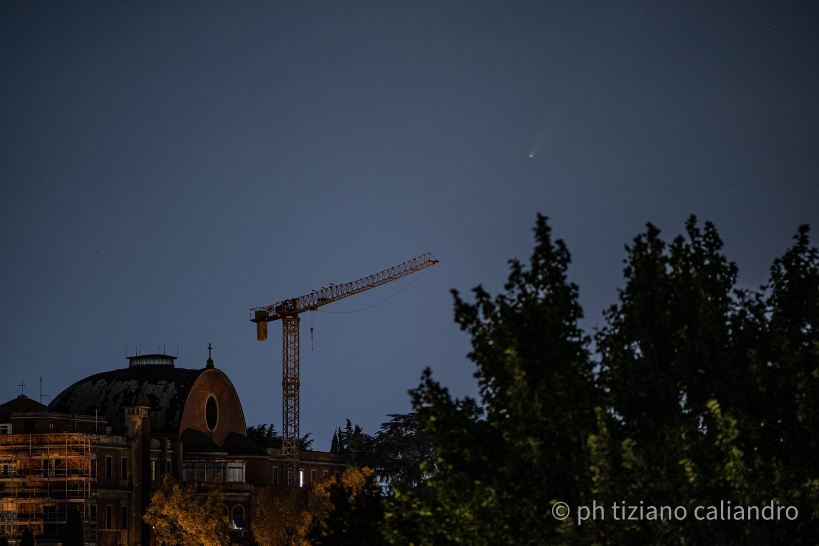 Tiziano Caliandro, foto panoramica (16 luglio)