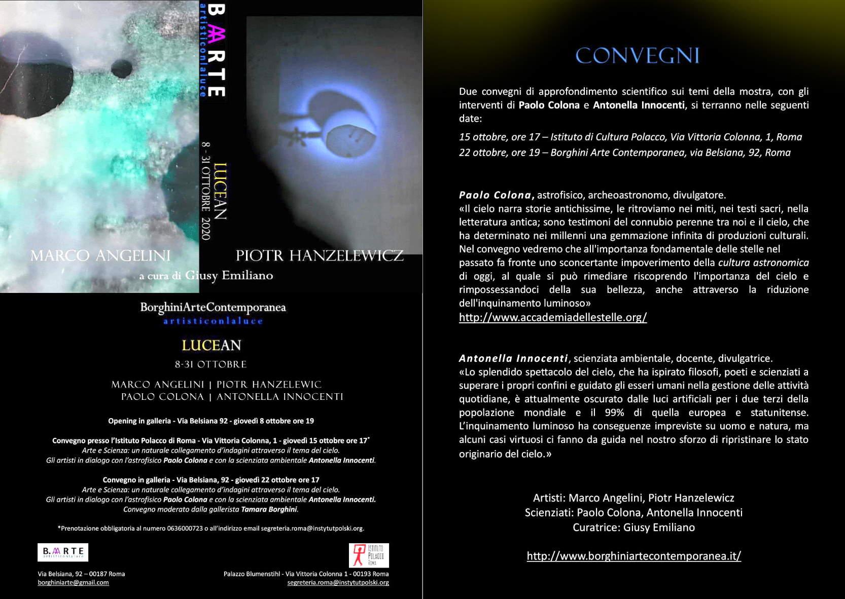 Lucean - Arte e scienza