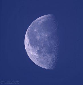 La Luna di giorno