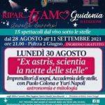 Il Cosmo del Mito il 30/8 a Guidonia