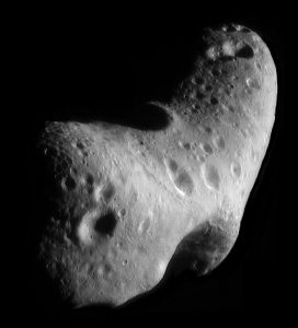 Al di sotto di una certa massa i corpi celesti possono assumere forme anche irregolari come ad esempio l'asteroide Eros. grande 8 km e pesante solo 7x10^15 ¹² tonnellate